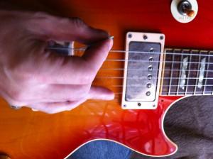 エレキギター初心者の練習