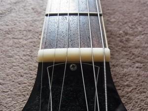 ギターのナット部