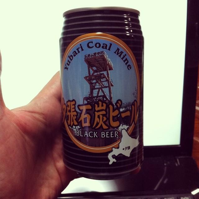 夕張石炭ビール 黒ビール 350ml飲んでみた!