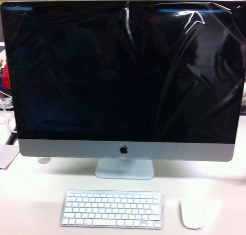 4年前に導入したiMacは今も快適に動作中です