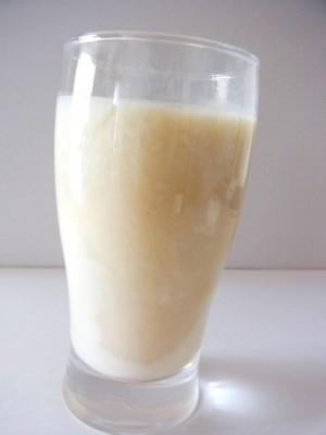 甘酒の豆乳割り