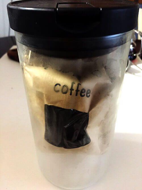 ハリオコーヒーキャニスター